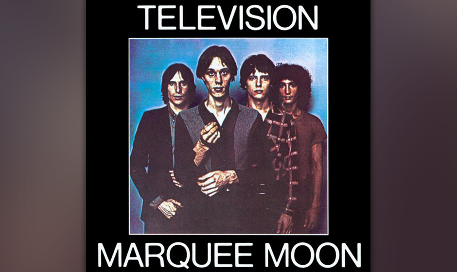 """381. 'Marquee Moon' - Television (Tom Verlaine) """"Marquee Monn"""" ist zehn Minuten Gitarren-Epik und unkontrollierte Großst"""
