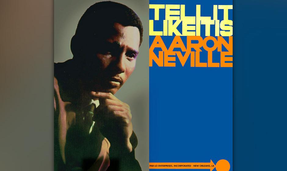 391. 'Tell It Like It Is' - Aaron Neville (G. Davis, L. Diamond) Aaron Neville verdiente seine Brötchen noch als Hafenarbeit
