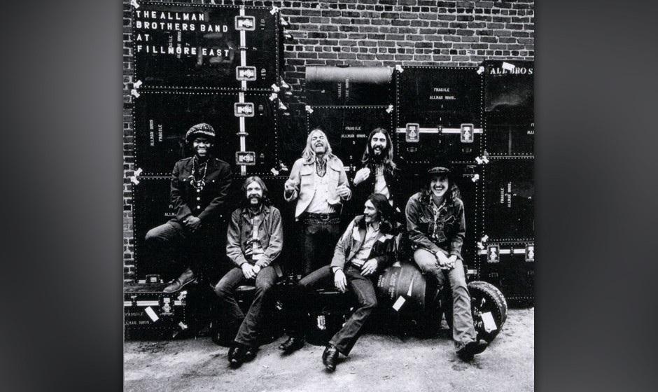 393. 'Whipping Post' - The Allman Brothers Band (Gregg Allman) Obwohl ein typisches Artefakt der ausklingenden 60er Jahre, ha