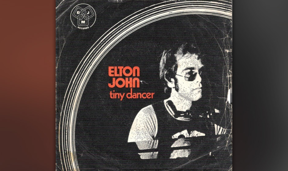 "397. 'Tiny Dancer' - Elton John (E. John, B. Taupin) ""Blue jean baby, LA lady, seamstress for the band."" Texter Taupin sc"