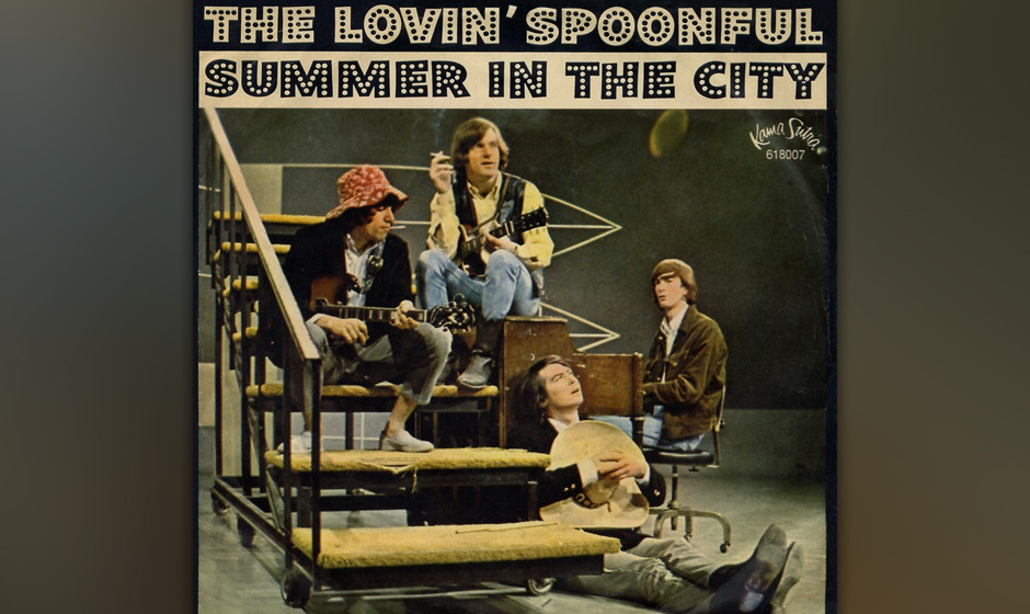 "401. 'Summer In The City' - The Lovin' Spoonful (Sebastian, Boone, Sebastian) 'Summer In The City"" war für Lovin' Spoo"