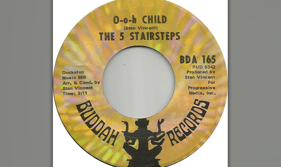 402. The Five Stairsteps - 'O-o-h Child' (Stan Vincent) 'O-o-h Child' bescherte den Five Stairsteps – vier Brüdern und