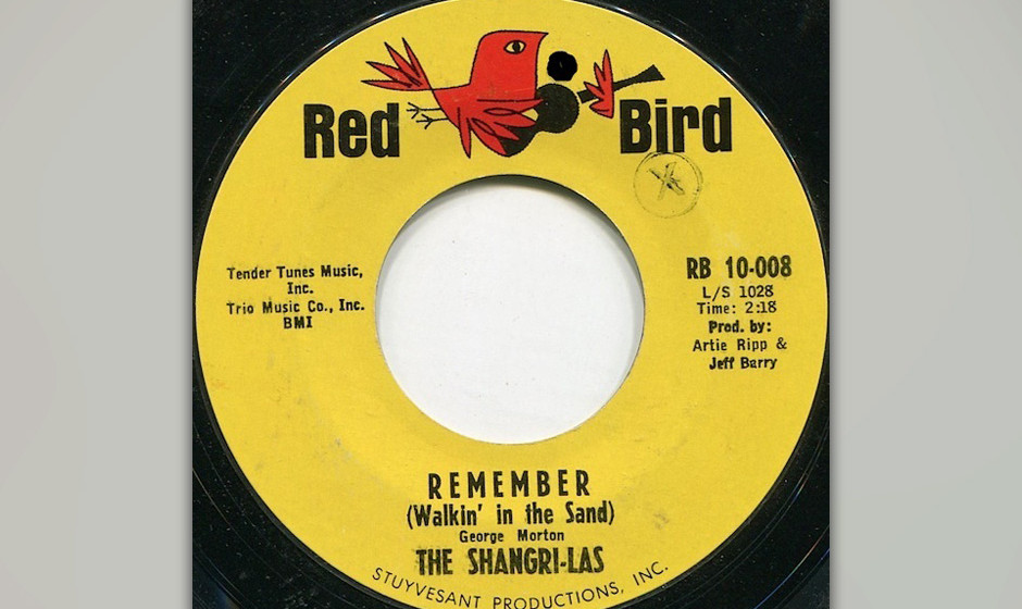 404. The Shangri-Las - 'Remember (Walkin' in the Sand)' (George 'Shadow' Morton) The Shangri-Las, zwei Schwesternpaare aus Qu