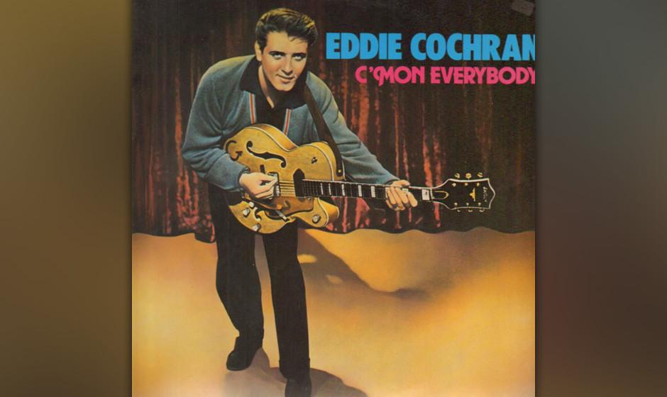 411. 'C'mon Everybody' - Eddie Cochran (E. Cochran, J. Capehart) Cochran bekam $ 82,50 für die dreistündige Session anno