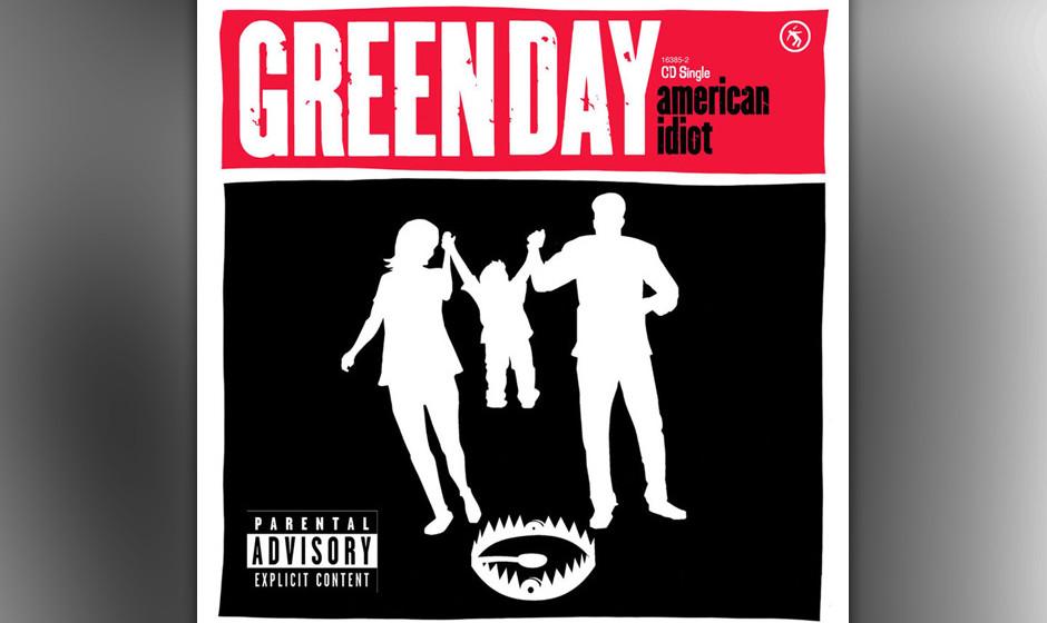432. Green Day - 'American Idiot' (Green Day) Kein Song hielt den verdorbenen Zeitgeist der Bush-Ära besser fest als diese U