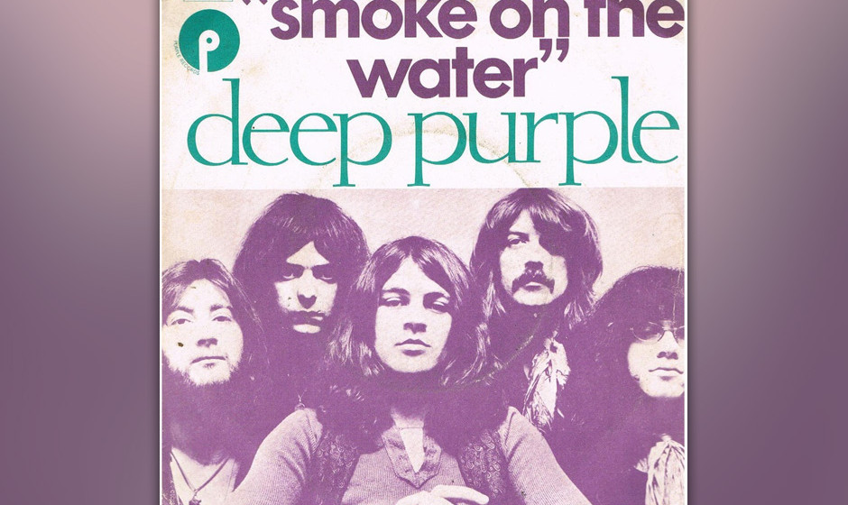 434. 'Smoke On The Water' - Deep Purple (Deep Purple) Keyboarder Jon Lord konnte sich daran erinnern, daß der Arbeitstitel d