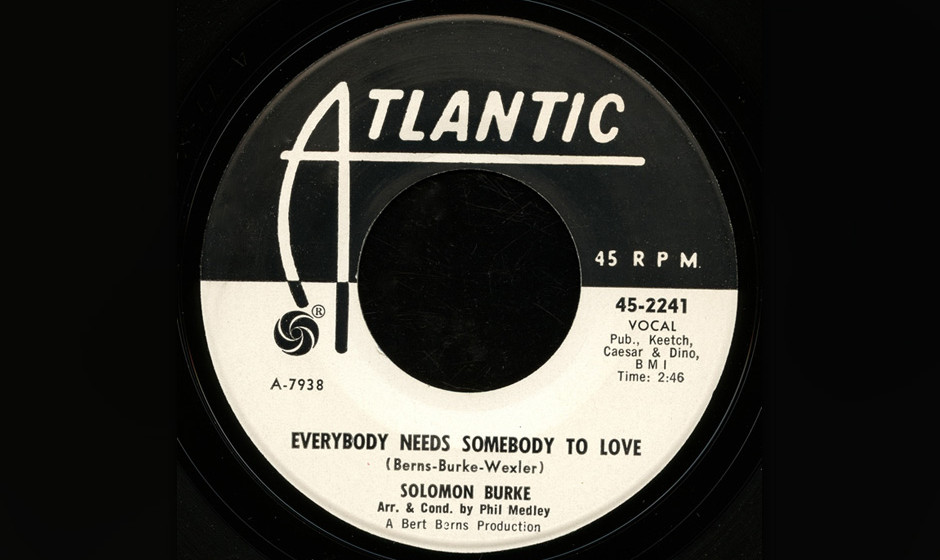 436. 'Everybody Needs Somebody To Love' - Solomon Burke (S. Burke, B. Burns, J. Wexler) Der aus Philadelphia stammende Burke
