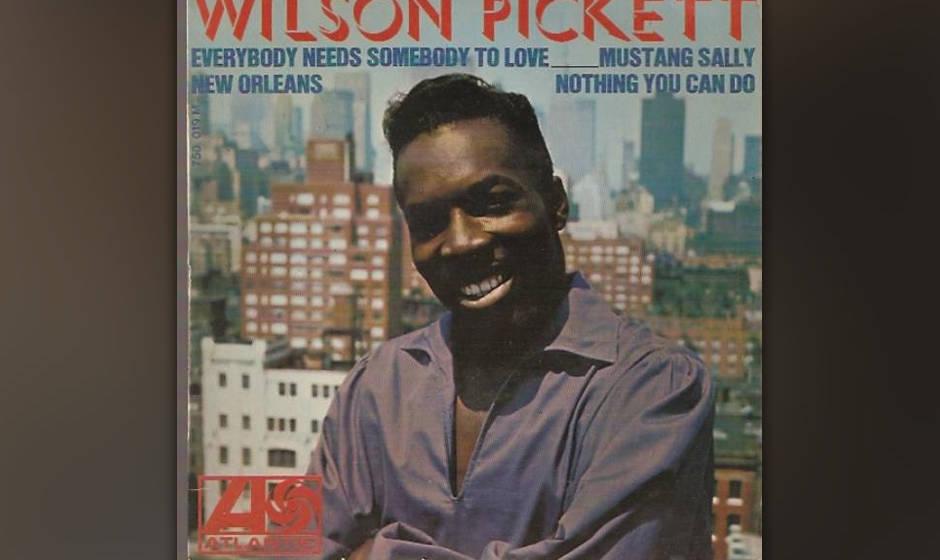 441. 'Mustang Sally' - Wilson Pickett (Sir Mack Rice) Als Pickett im Muscle Shoals Studio aufnahm, flog das Tape plötzlich v