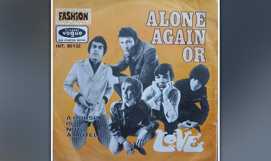 "442. 'Alone Again Or' - Love (Bryan MacLean) Die Psycho-Cowboys  aus LA wurden berühmt für ihren düsteren Folkrock. ""Alo"