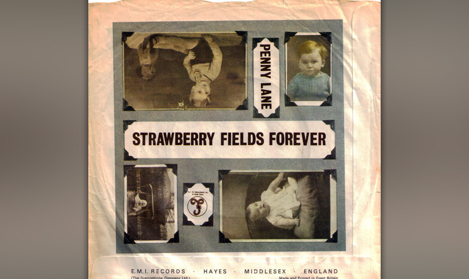 456. The Beatles - 'Penny Lane' (John Lennon, Paul McCartney) Nachdem Lennon 'Strawberry Fields Forever' komponiert hatte