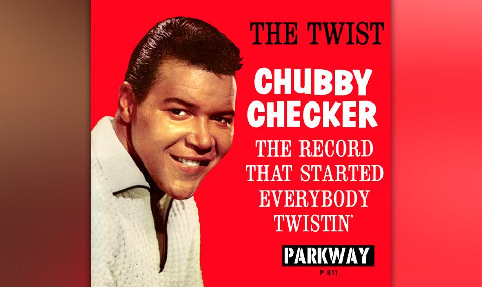 """457. 'The Twist' - Chubby Checker (Hank Ballard) """"The Twist"""" erblickte schon 1958 als seichte B-Seiten-Nummer von Hank Ba"""