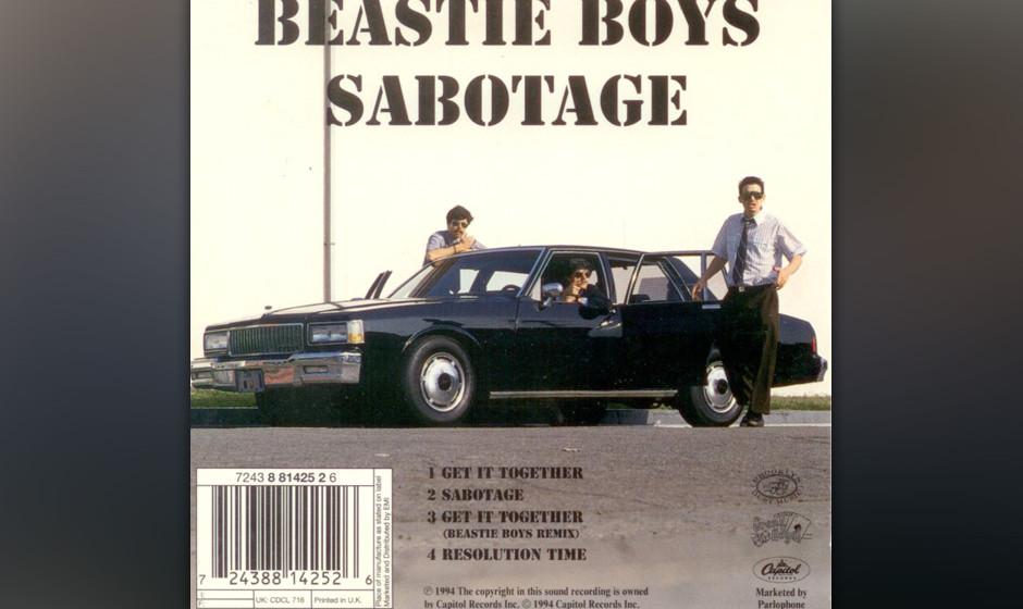 480. Beastie Boys - 'Sabotage' (Beastie Boys)  Adam 'MCA' Yauch ließ sich das mörderische Fuzz-Bass-Riff in Manhattans