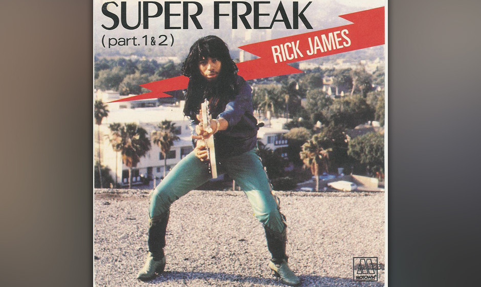 481. Rick James - 'Super Freak' (James, Alonzo Miller) James war nicht gerade bescheiden, was seine Ziele anging, wie er 1981