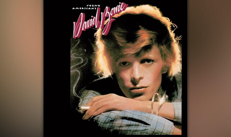 486. David Bowie - 'Young Americans' (Bowie) 1975 ersetzte Bowie seine ausgediente Ziggy-Stardust-Persönlichkeit mit der Erk