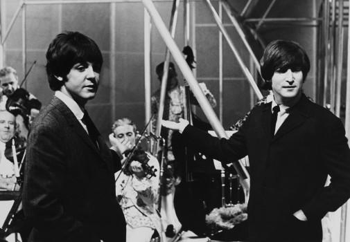 Das berühmteste Songwriting-Gespann der Pop-Geschichte: Paul McCartney und John Lennon.