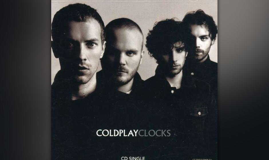 490. Coldplay - 'Clocks' (Coldplay) Coldplay wollten dringend ihr zweites Album fertig bekommen und 'Clocks' mit seinem v