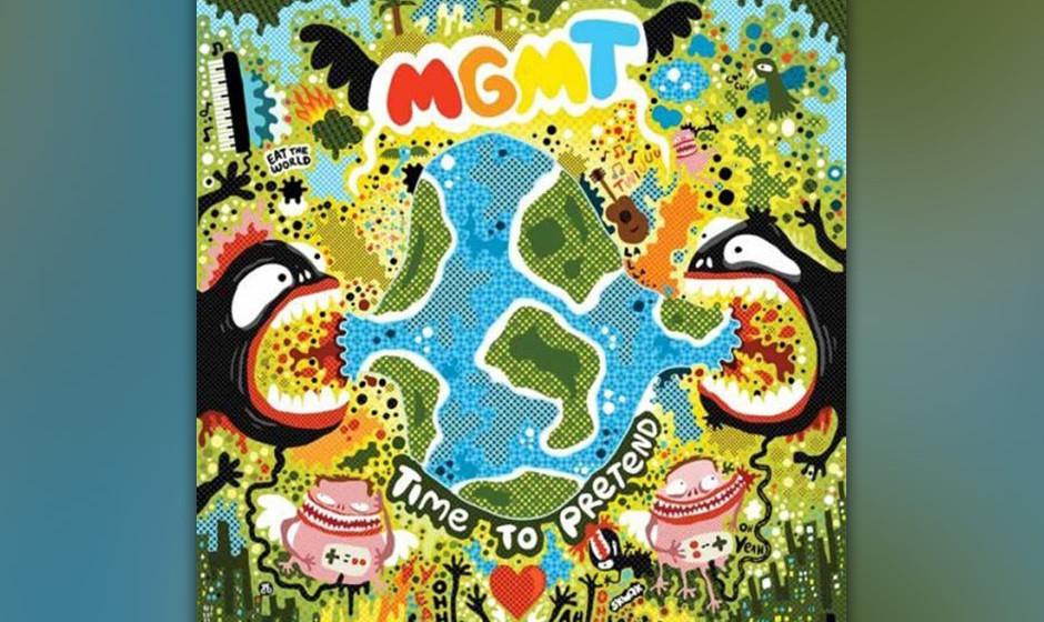 493. MGMT - 'Time to Pretend' (Ben Goldwasser, Andrew VanWyngarden) Der Rhythmus war von den Bewegungen einer Gottesanbeterin