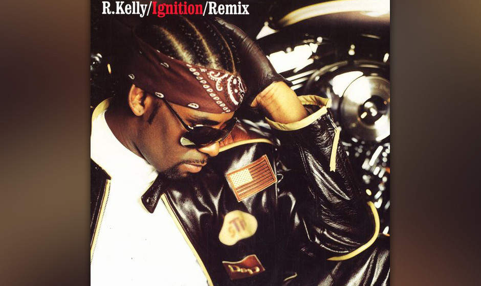 494. R. Kelly - 'Ignition (Remix)' (Kelly) R. Kellys Automobil-Metaphern für Geschlechtsverkehr in 'Ignition' sind dezen