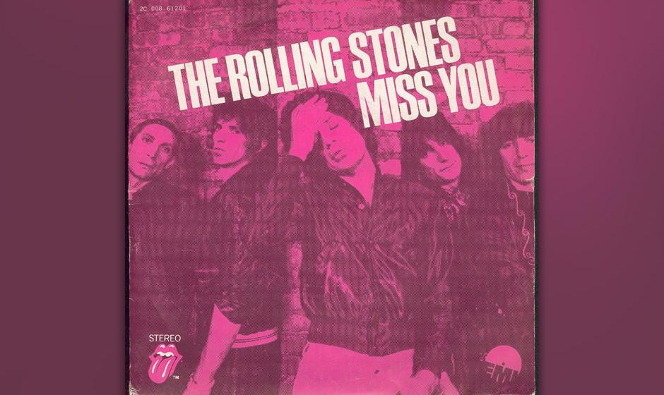 498. The Rolling Stones - 'Miss You' (Mick Jagger, Keith Richards) Die Stones haben in Toronto für ihre Auftritte im El Moca