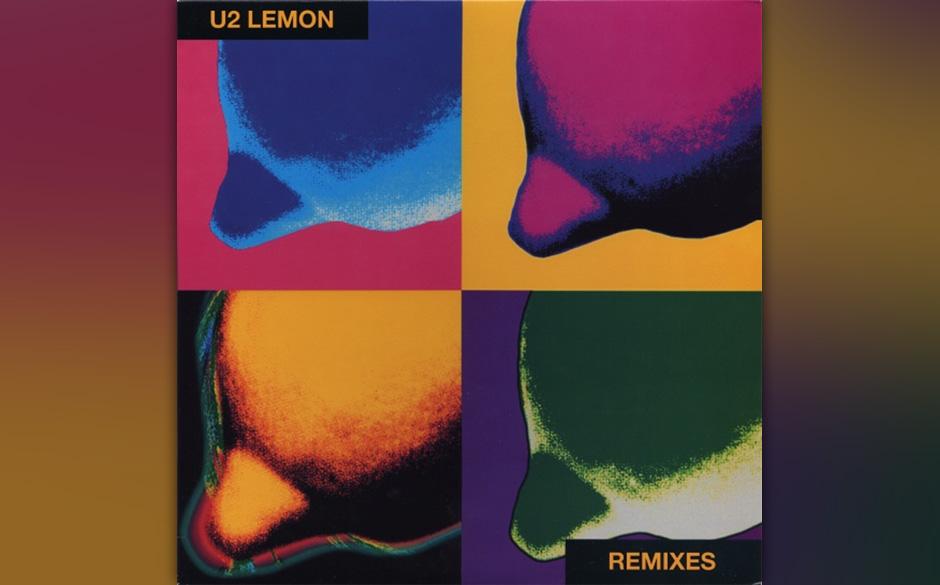 5. 'Lemon'. Nie zuvor und nie danach ist U2 die Vermählung von Dancefloor und Pathos so gut gelungen wie auf diesem Track. B