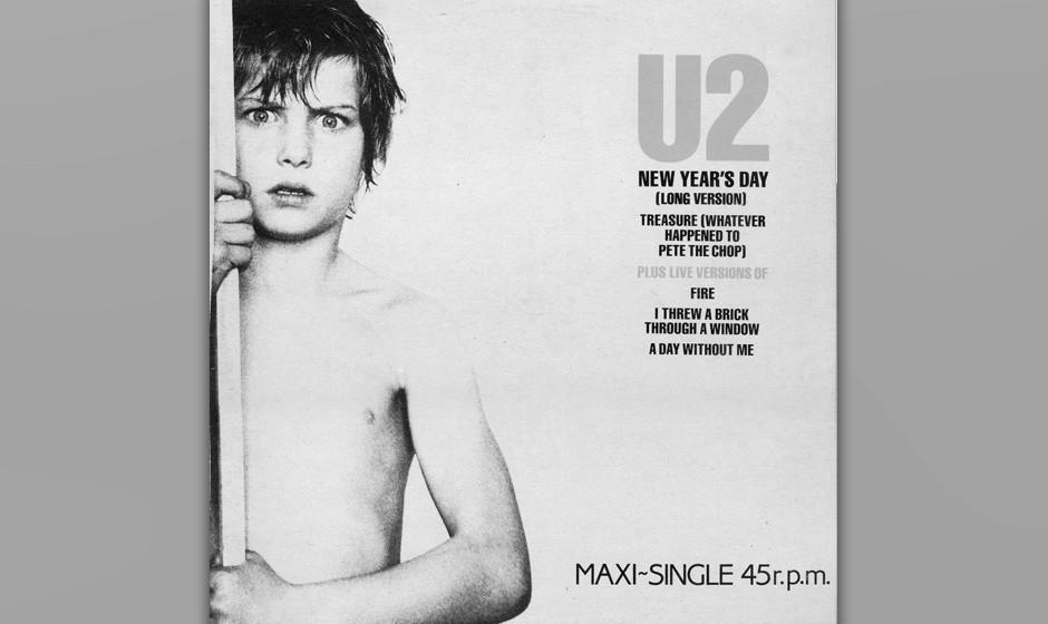 """12. 'New Years Day'. Der erste Single vom """"War""""-Album, und vermutlich der einzige Song über die polnische Gewerkschaft �"""