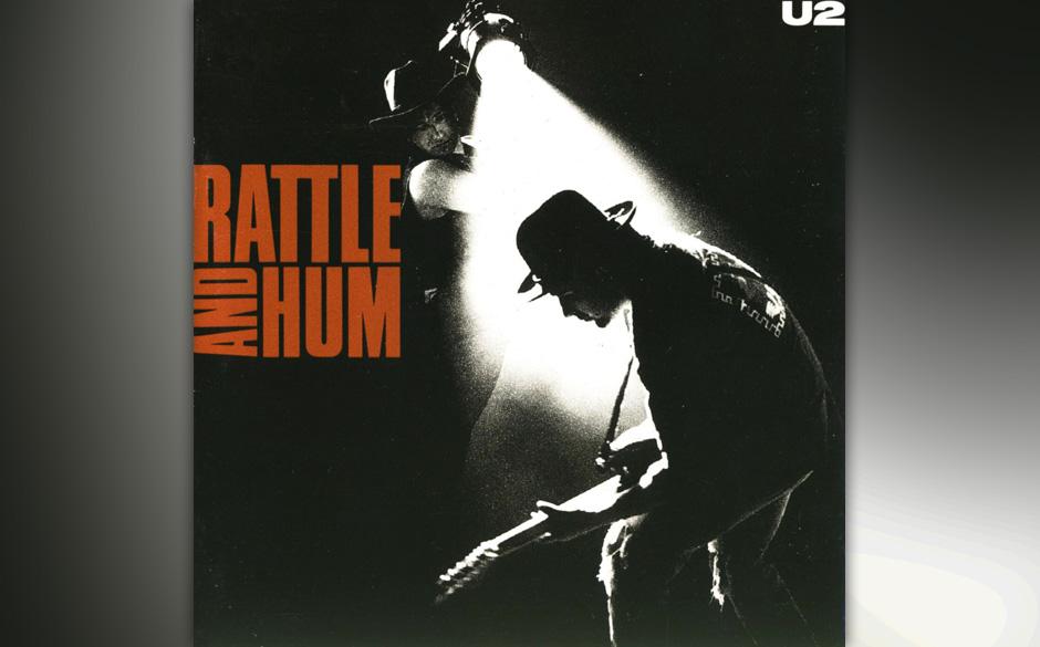 """33. 'Hawkmoon 269'. U2 goes America, mit Bob Dylan an der Orgel und einem Gospelchor am Ende. Als die Band auf ihrer """"Consp"""