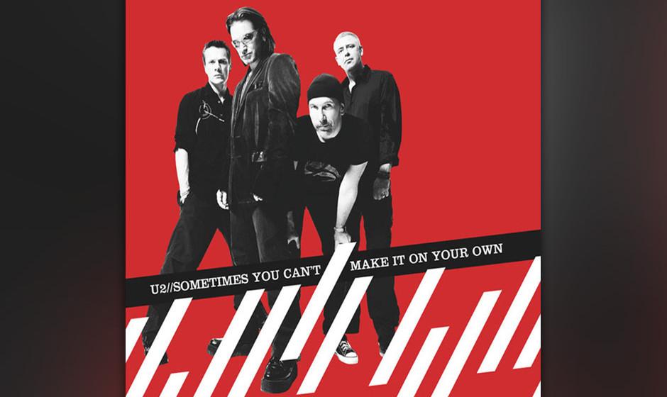 31. 'Sometimes You Can't Make It On Your Own'. Seine verstorbene Mutter hat Bono bis heute in mindestens drei Liedern besunge