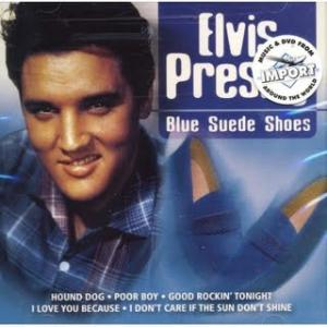 430. Elvis Presley - 'Blue Suede Shoes' (Carl Perkins) Am Tag nach Presleys Fernseh-Debüt in Jimmy und Tommy Dorseys 'Stag