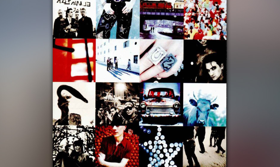 """16. 'Zoo Station'. Dunkelheit tritt an die Stelle des Lichts. Mit """"Where The Streets Have No Name"""" begrüßten U2 den Son"""