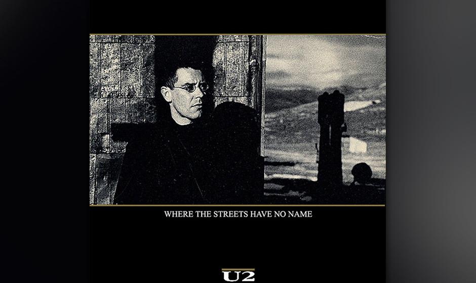 6. 'Where The Streets Have No Name'. Auftaktsong und dritte Single von 'The Joshua Tree'. Dass die drei zwingendsten Lieder d
