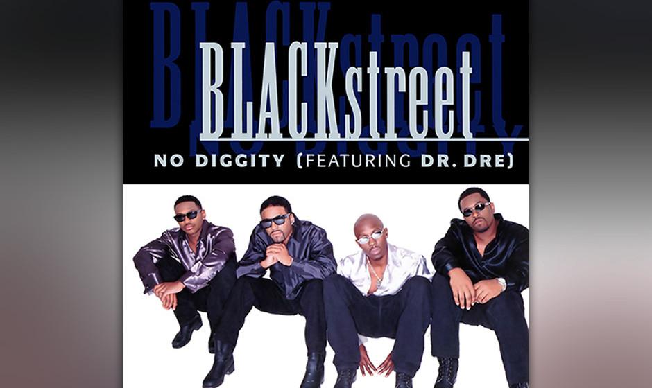14. BLACKSTREET: No Diggity HipHop-Geniestreich mit biegsamem Rückgrat aus gesampelten Piano-Riffs: umwerfend!