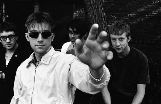 """Blur! Live treten sie längst wieder auf, """"Think Tank"""", die letzte Platte –ohne Graham Coxon, erschien 2003."""
