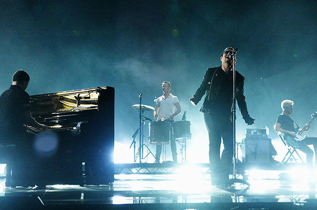U2. 'Songs Of Experince' ist bereits angekündigt worden.