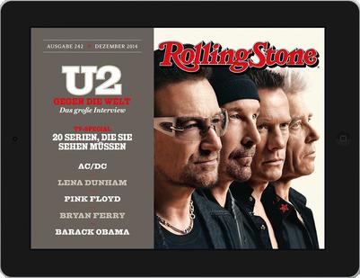 Rolling Stone iPad-App