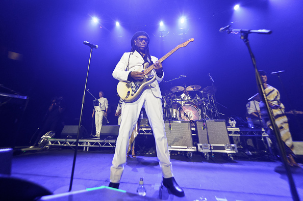 LONDON, ENGLAND - MARCH 20:  Nile Rodgers performs at The Roundhouse on March 20, 2015 in London, England.  (Photo by Joseph