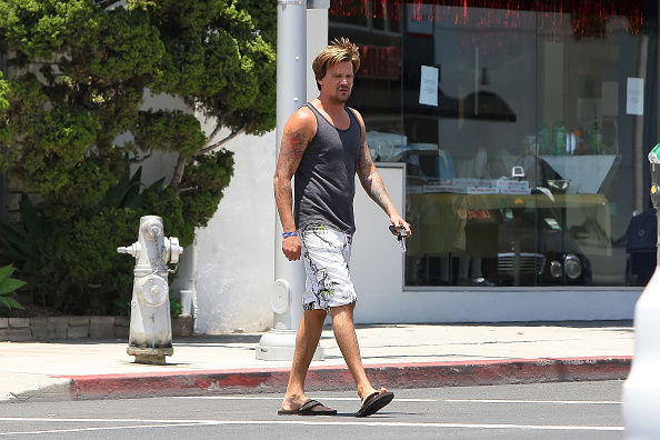 LOS ANGELES, CA - JUNE 13: Sean Stewart is seen on June 13, 2012 in Los Angeles, California.  (Photo by Bauer-Griffin/GC Imag