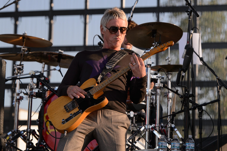 CHICAGO, IL - SEPTEMBER 13:  Paul Weller performs on stage at Riot Fest Chicago 2014 at Humboldt Park on September 13, 2014 i