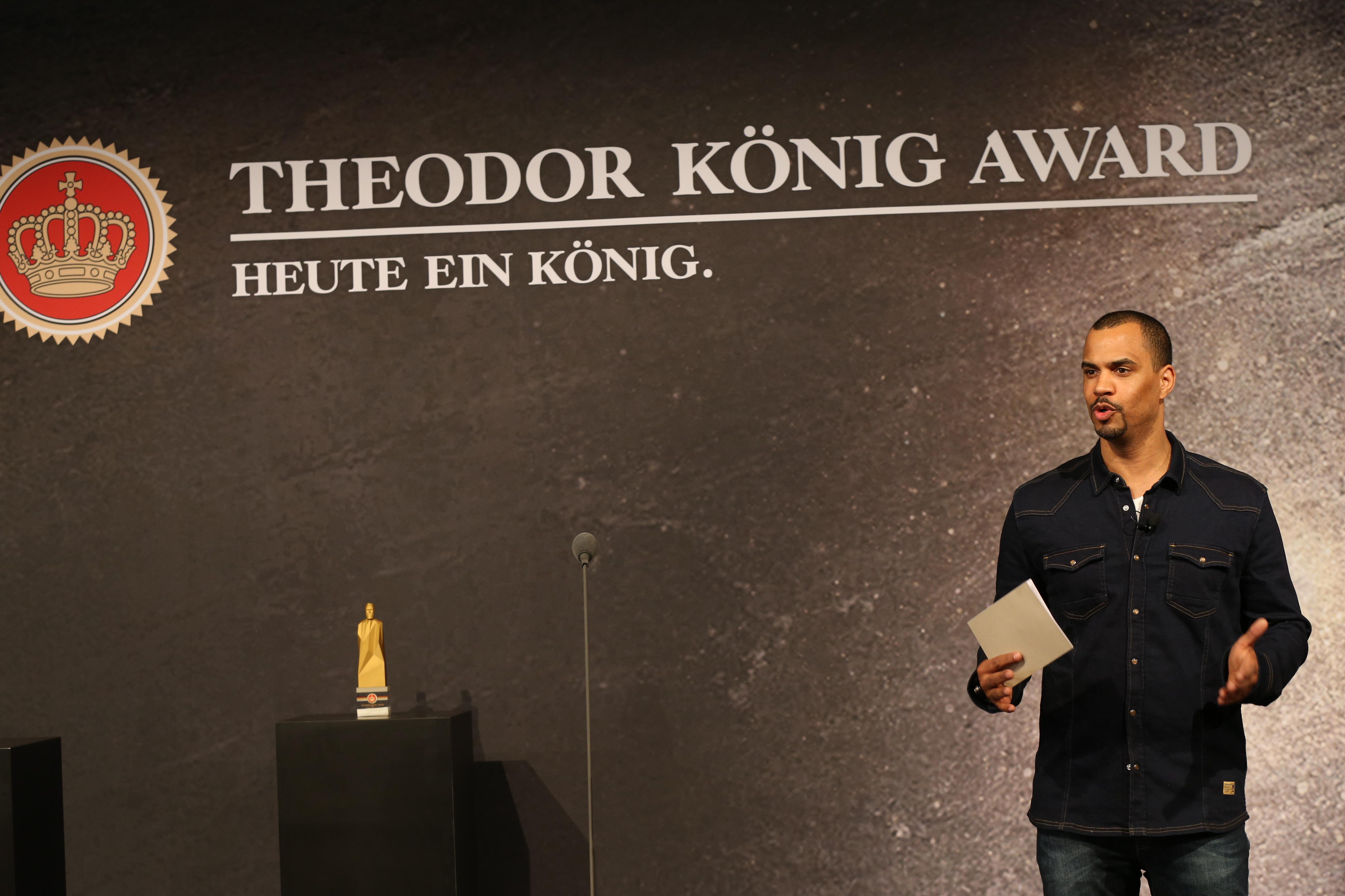 Patrice BouedibelaTHEODOR KÖNIG AWARD 2015 im Hotel Ellington in Berlin am 27.03.2015AGENCY PEOPLE IMAGE(c.)MARKO GREITSCH