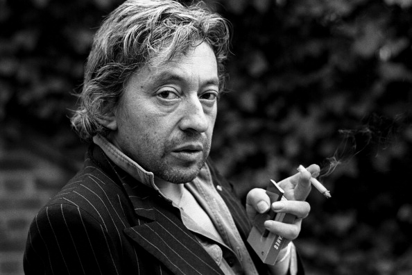 PARIS, FRANCE - APRIL 18. French singer Serge Gainsbourg poses during portrait session held on April 18, 1980 in Paris, Franc