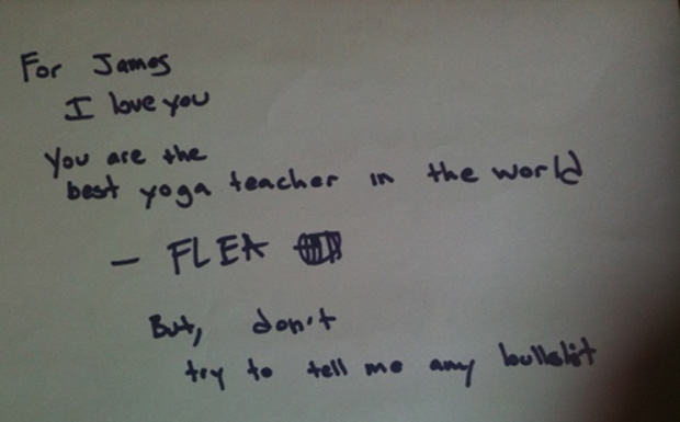 Flea von den Red Hot Chili Peppers mit einer persönlichen Liebeserklärung