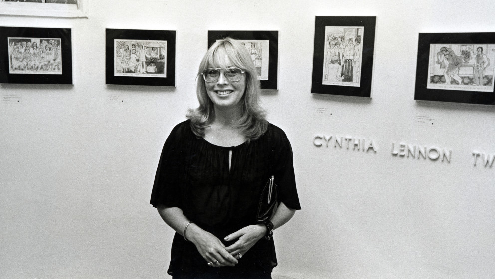 Cynthia Lennon Twist during Cynthia Lennon's Pen and Ink Drawings Exhibited at Tower Gallery in Southampton in Long Island, N