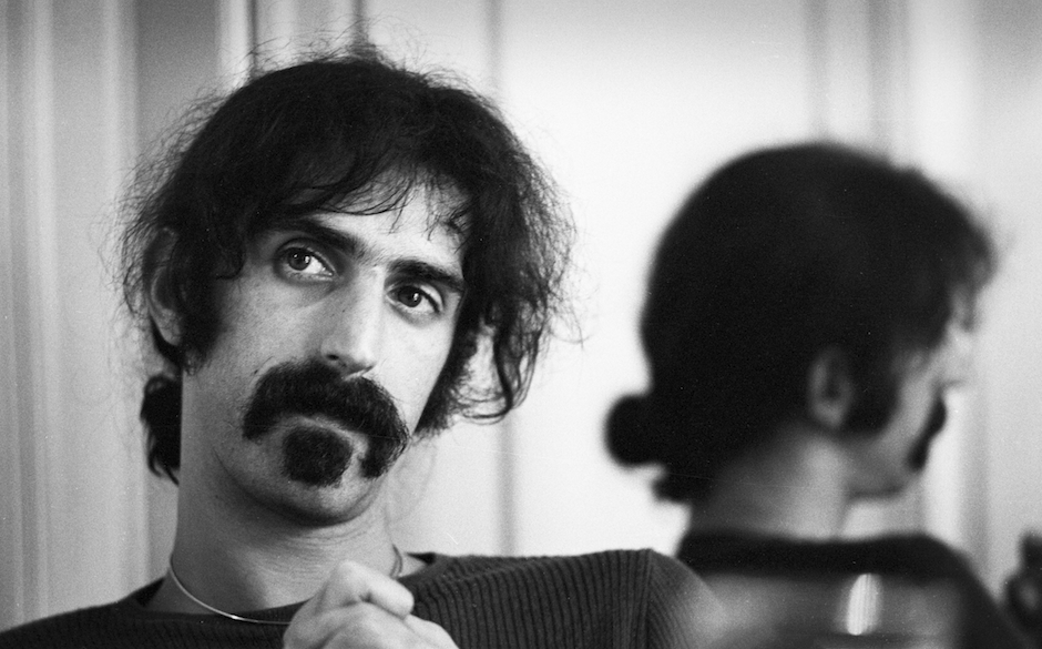 AMSTERDAM, NETHERLANDS - SEPTEMBER 17: Frank Zappa posed during an interview in Amsterdam, Netherlands on 17th September 1972