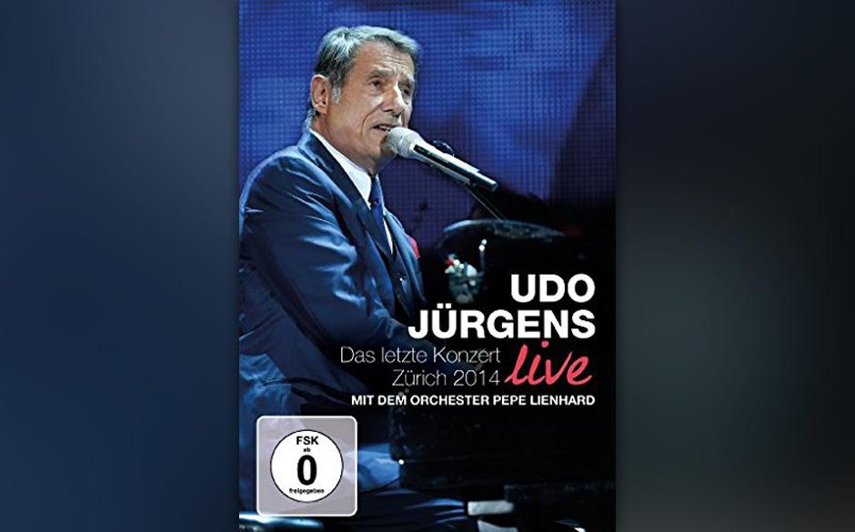 ...Bronze geht posthum an Udo Jürgens und sein letztes Konzert in Zürich...