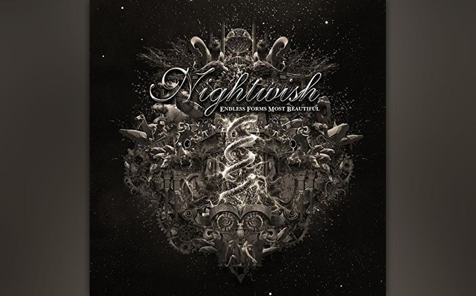 ...Rang zwei sichern sich Nightwish mit 'Endless Forms Most Beautiful' und neuer Sängerin...