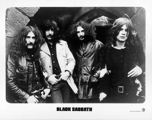UNSPECIFIED - CIRCA 1970:  Warner Bros. Records publicity still photo of Black Sabbath (L-R) Geezer Butler, Tony Iommi, Bill