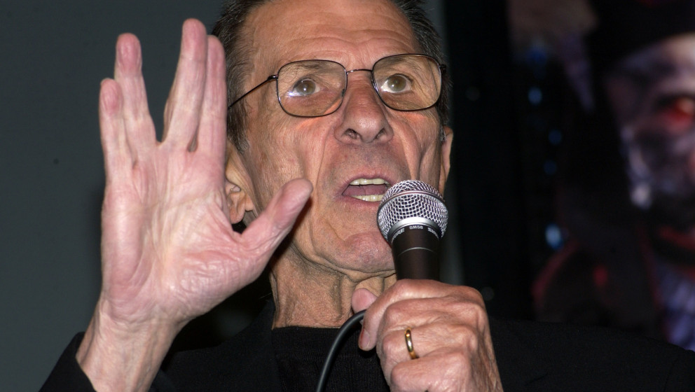 Leonard Nimoy during Creation Entertainment's Grand Slam XI: Sci-Fi Summit - Day Two at Pasadena Civic Auditorium in Pasadena