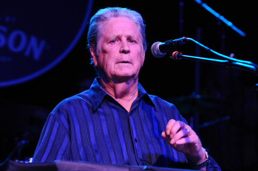 LOS ANGELES, CA - MARCH 30: Musician Brian Wilson performs onstage during Brian Fest: A Night to Celebrate the Music of Brian Wilson at Fonda Theater on March 30, 2015 in Los Angeles, California. (Photo by