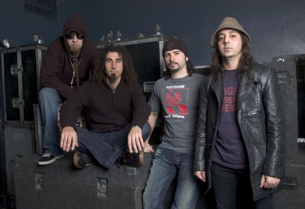 System of a Down during System of a Down Photocall - May 3rd, 2005 at Metro in Chicago, Il, United States. (Photo by Paul Nat