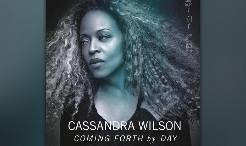 ...Cassandra Wilson singt auf ihrer neuen LP 'Coming Forth By Day' Songs von Billie Holiday - und erreicht Platz 56...