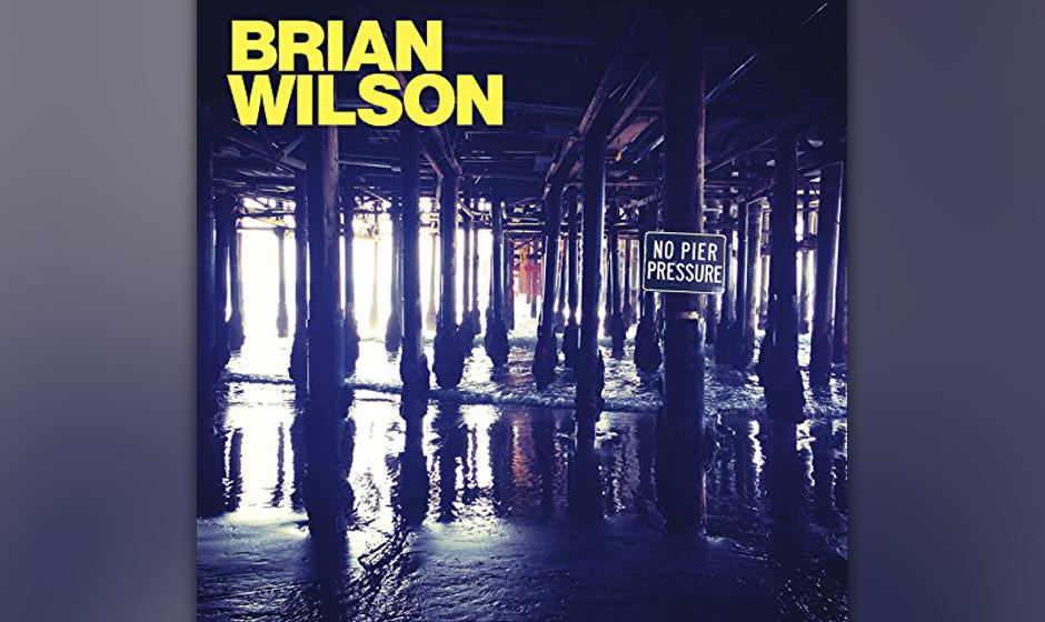 Brian Wilson hat mit 'No Pier Pressure' den Albumtitel des Jahres, aber der Longplayer erklimmt 'nur' Rang 64.